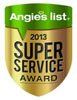 Angies's LIst 2013 Super Service Award