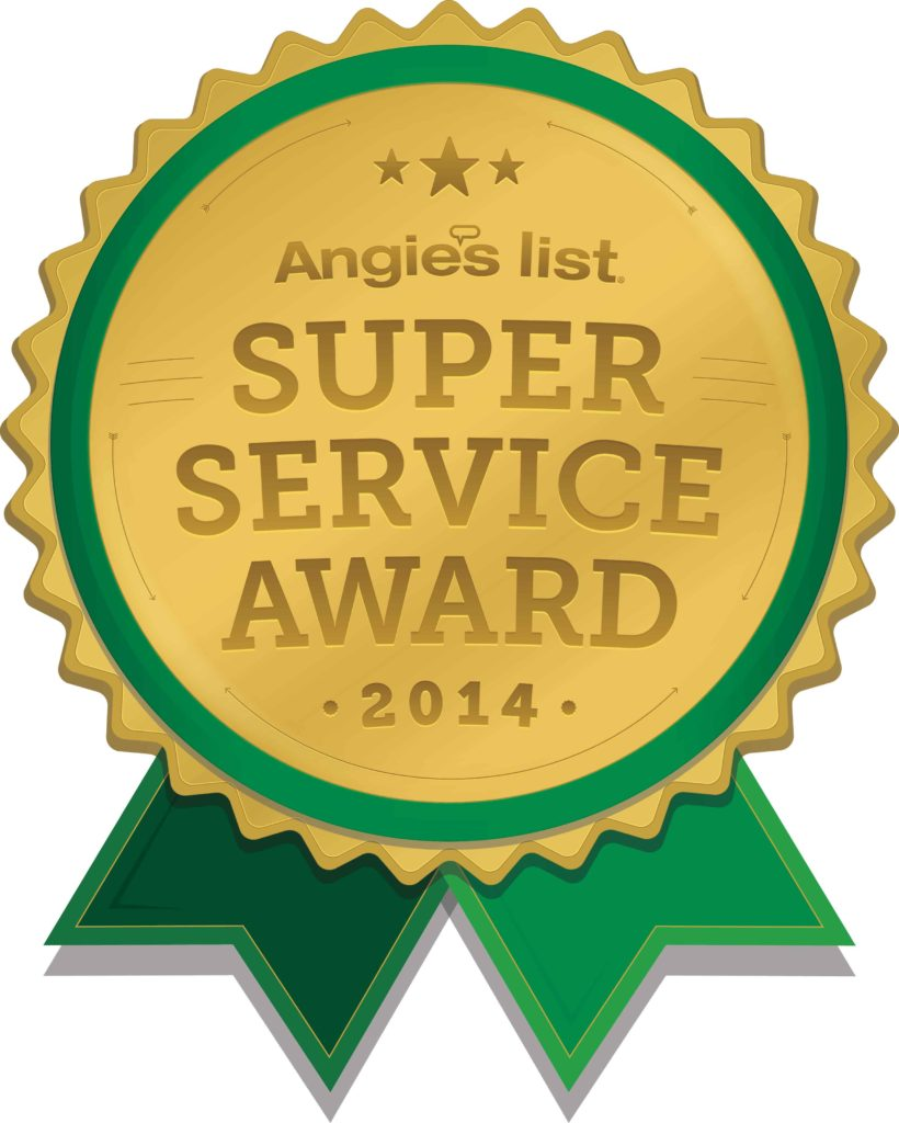 Super Service Award Angie's List 2014