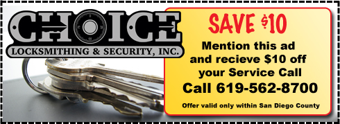 Save $10 Mention this ad and receive $10 off your service call - Valid only within San Diego County