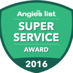 Angie's' List 2106 Super Service Award